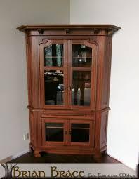 custom greene and greene corner cabinet by brian brace fine