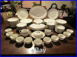 noritake japan china northcliffe 86pc dinnerware dishes set