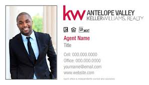 Keller Williams Business Cards Keller Williams Antelope Valley Business Cards House Of Magnets