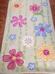 Pottery Barn Shag Rug by Find More Pottery Barn Kids Daisy Garden 100 Wool Rug 3x5 Great