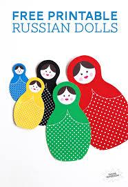 winter olympics craft idea russian dolls paging supermom