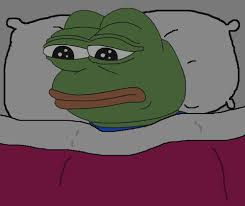 Depressed Frog Meme - been hoarding sad frog images for a year now enjoy my collection