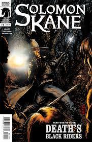 solomon kane death u0027s black riders 1 profile dark horse comics