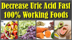 top 20 foods to keep uric acid at normal levels and you can