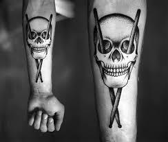 the skull drumstick cross scene360