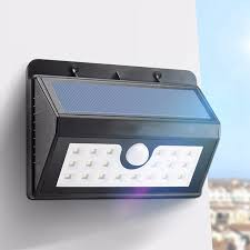 wireless motion lights outdoor wireless solar powered 20 led solar light waterproof ip65 pir motion