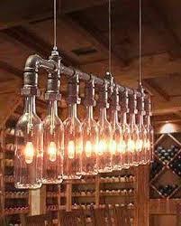 Wine Bottle Chandeliers Cool Wine Bottle Chandelier To Hang From My Pergola Woodworking