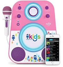 light up karaoke machine light up karaoke machine with microphone amazon co uk toys games