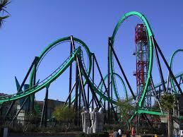 Goliath Six Flags Magic Mountain Goliath Six Flags Magic Mountain Bi Double You