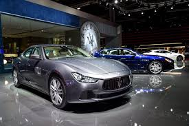 matte black maserati convertible maserati at the paris motor show drive and ride uk