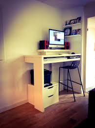 Ikea Sit Stand Desk by Bedroom Mesmerizing Standing Desk Diy Top Shelf Sit Stand