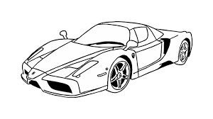 imagenes de ferraris para dibujar faciles cómo dibujar un ferrari enzo coche youtube