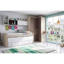 meuble chambre enfant elmo chambre compacte lit gigogne lit rabattable glicerio