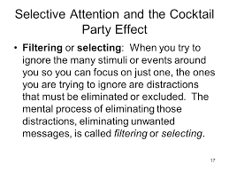 What Is Cocktail Party Effect - attention ppt video online download