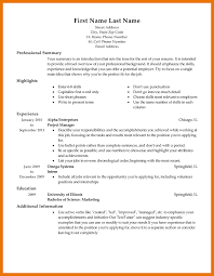 7 resume template for it budget reporting