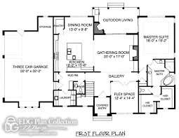 english country home floor plans