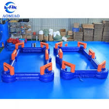 Human Pool Table by Soccer Billiards Inflatable Snookball Table Pool Soccer Table