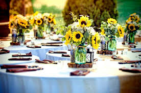 country wedding centerpieces modern concept country wedding table decorations with country