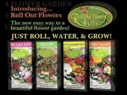roll out flower garden roll out flowers