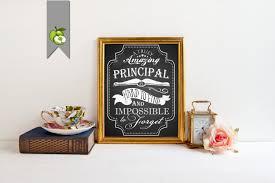 nurse quote gifts principal gift the best principal principal printable