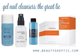 the great lie gel nail cleanser beauty skeptic
