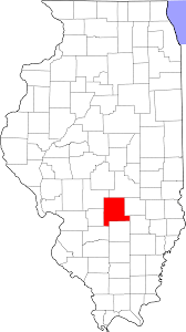 Maps Of Illinois by File Map Of Illinois Highlighting Fayette County Svg Wikimedia