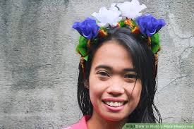 flower headdress how to make a floral headdress 7 steps with pictures wikihow