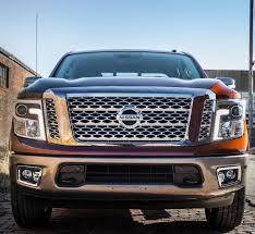 nissan titan half ton nissan unveils redesigned 2017 titan with gas v8 coming soon to