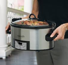 How Big Is A 3 Car Garage by Amazon Com Crock Pot 6 Quart Programmable Cook U0026 Carry Slow