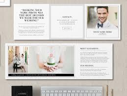wedding flyer wedding portrait photographer studio welcome flyer trifold