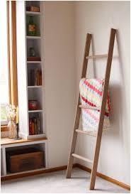 Blanket Storage Ideas by Rustic Old Ladder Shelf Design Ideas U2013 Modern Shelf Storage And