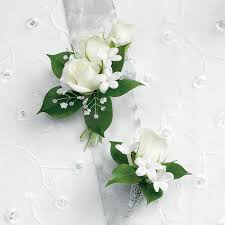 white corsages for prom wilmington nc corsages and boutonnieres