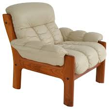 Scandinavian Leather Chairs Norwegian Lounge Chairs 171 For Sale At 1stdibs