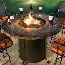 Gas Firepit Table How To Build A Pit Table Autour