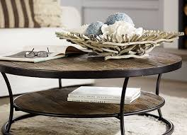 coffee table decorations glass wood and metal coffee tables pottery barn