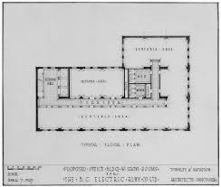 proposed office bldg u0026 show rooms for the b c electric rlwy co