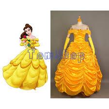 Halloween Costumes Belle Cheap Princess Belle Costume Deluxe Aliexpress