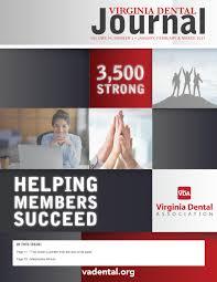 virginia dental journal vol 94 1 january 2017 by virginia dental