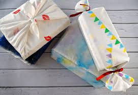 diy creative fabric gift wrapping the makeup dummy