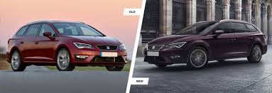 old lexus interior seat leon leon sc u0026 leon st facelift old vs new carwow