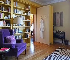 Purple Bookcase Hidden Door Bookcase Hall Traditional With Art Bookcase Bookshelf