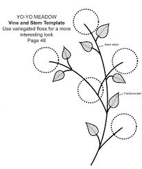 technique tutorial yo yo flowers by machine martha pullen