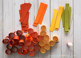Paper Crafts - beautiful fall tree paper craft i crafty things