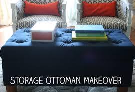 birch u0026 lily storage ottoman makeover