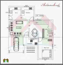 two story house plans kerala style bedroom bungalow floor