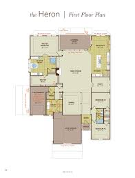 heron home plan by gehan homes in lakes of mission grove