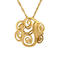 monogram pendants monogram pendants