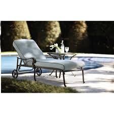 Home Decorators Collection Madrid  In L Bronze Patio Chaise - Home decorators patio furniture