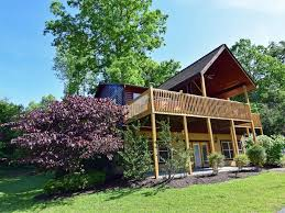 2 bedroom log cabin gatlinburg mountain views theatre room