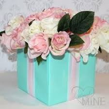 tiffany blue centerpieces tiffany blue and pink wedding theme